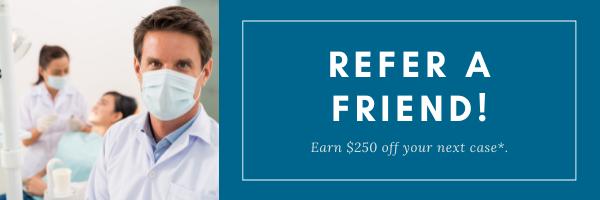 Refer a Friend earn $250 credit